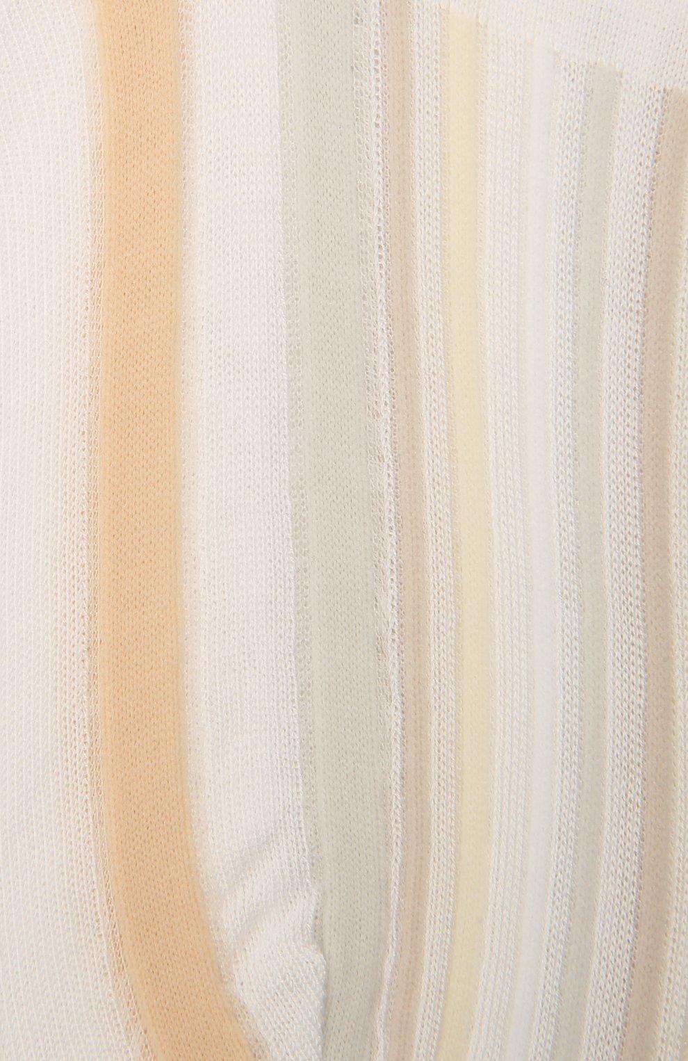 Женские хлопковые носки ANTIPAST белого цвета, арт. AM-287AS   Фото 2