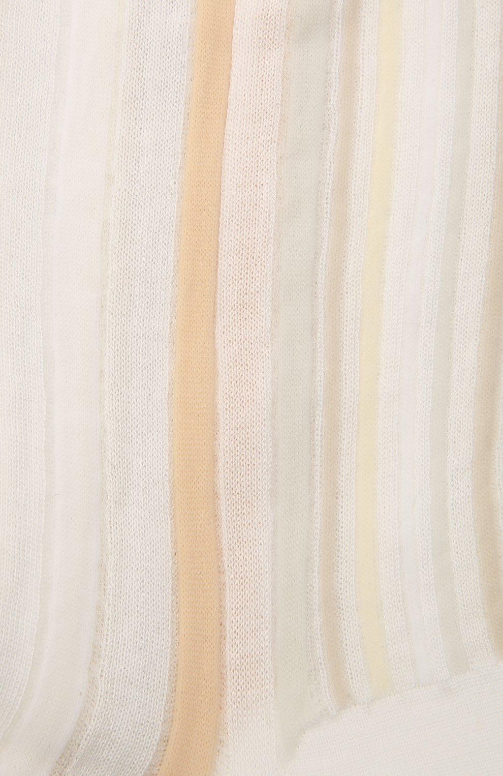 Женские хлопковые носки ANTIPAST бежевого цвета, арт. AM-287A | Фото 2