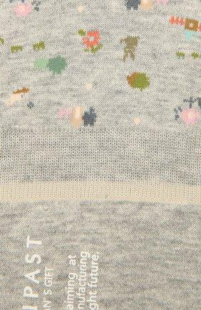 Женские хлопковые подследники ANTIPAST серого цвета, арт. AM-131AS   Фото 2