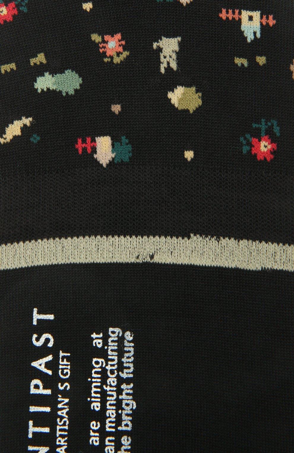 Женские хлопковые подследники ANTIPAST черного цвета, арт. AM-131AS   Фото 2