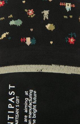 Женские хлопковые подследники ANTIPAST черного цвета, арт. AM-131AS | Фото 2