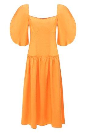Женское платье REJINA PYO оранжевого цвета, арт. F317/VISC0SE BLEND   Фото 1
