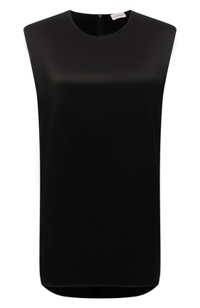 Женский топ BY MALENE BIRGER черного цвета, арт. Q69248009/LENEGA   Фото 1