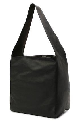 Женский сумка-шопер JOSEPH черного цвета, арт. JF004980   Фото 3 (Сумки-технические: Сумки-шопперы; Материал: Натуральная кожа; Размер: large)