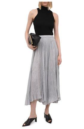 Женская шелковая юбка JOSEPH серого цвета, арт. JF005257   Фото 2