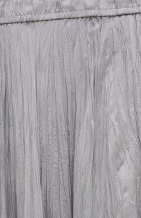 Женская шелковая юбка JOSEPH серого цвета, арт. JF005257   Фото 5