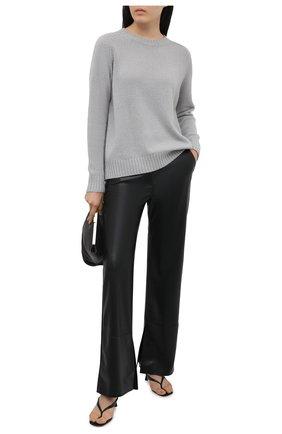 Женский кашемировый свитер JOSEPH серого цвета, арт. JF005304 | Фото 2