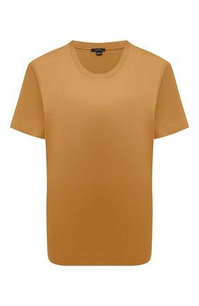 Женская хлопковая футболка JOSEPH оранжевого цвета, арт. JF005318   Фото 1