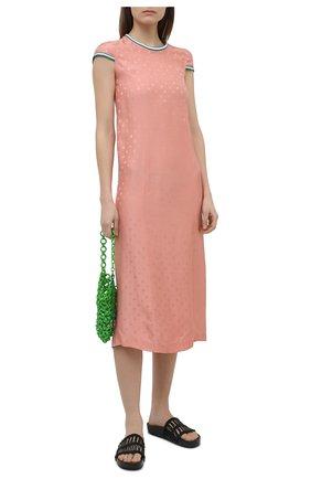 Женское платье из вискозы MARNI розового цвета, арт. ABMA0663HL/TV775 | Фото 2