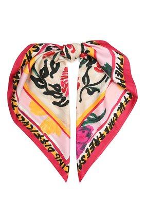 Женский шелковый платок MARNI фуксия цвета, арт. ACMC0071P1/USCR71 | Фото 1