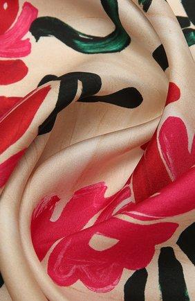 Женский шелковый платок MARNI фуксия цвета, арт. ACMC0071P1/USCR71 | Фото 2