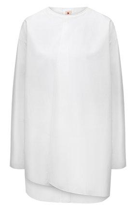 Женская хлопковая рубашка MARNI белого цвета, арт. CAMAU48A00/TCY67 | Фото 1
