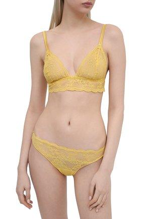 Женские трусы-стринги GIANANTONIO PALADINI желтого цвета, арт. S12GS01 | Фото 2