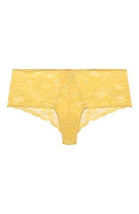 Женские трусы-шорты GIANANTONIO PALADINI желтого цвета, арт. S12GS02 | Фото 1