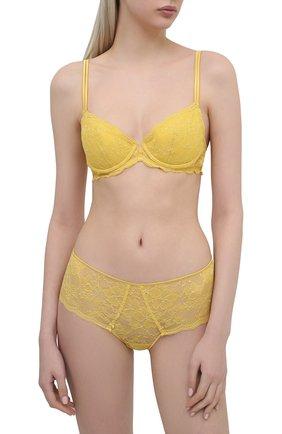 Женские трусы-шорты GIANANTONIO PALADINI желтого цвета, арт. S12GS02 | Фото 2