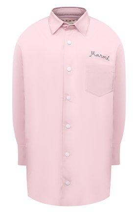 Женская куртка MARNI розового цвета, арт. JKMA0166WX/TP690 | Фото 1