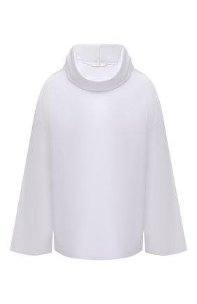 Женская хлопковая блузка THE ROW белого цвета, арт. 5644W2043 | Фото 1