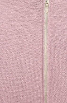 Детский кашемировый комбинезон WOOL&COTTON розового цвета, арт. KMLBR-H   Фото 3