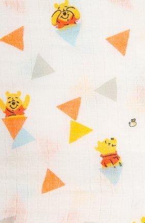 Детского комплект из четырех пеленок ADEN+ANAIS разноцветного цвета, арт. ADISN102 | Фото 7
