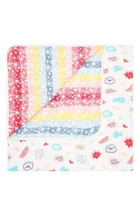 Детского хлопковое одеяло ADEN+ANAIS разноцветного цвета, арт. EMBC10005WB | Фото 1