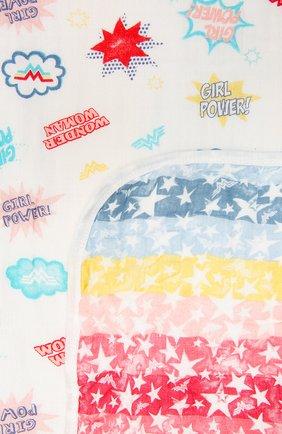 Детского хлопковое одеяло ADEN+ANAIS разноцветного цвета, арт. EMBC10005WB | Фото 2