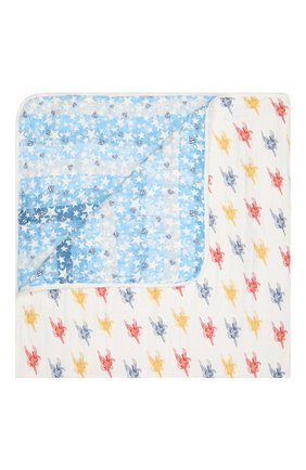 Детского хлопковое одеяло ADEN+ANAIS разноцветного цвета, арт. EMBC10006WB | Фото 1
