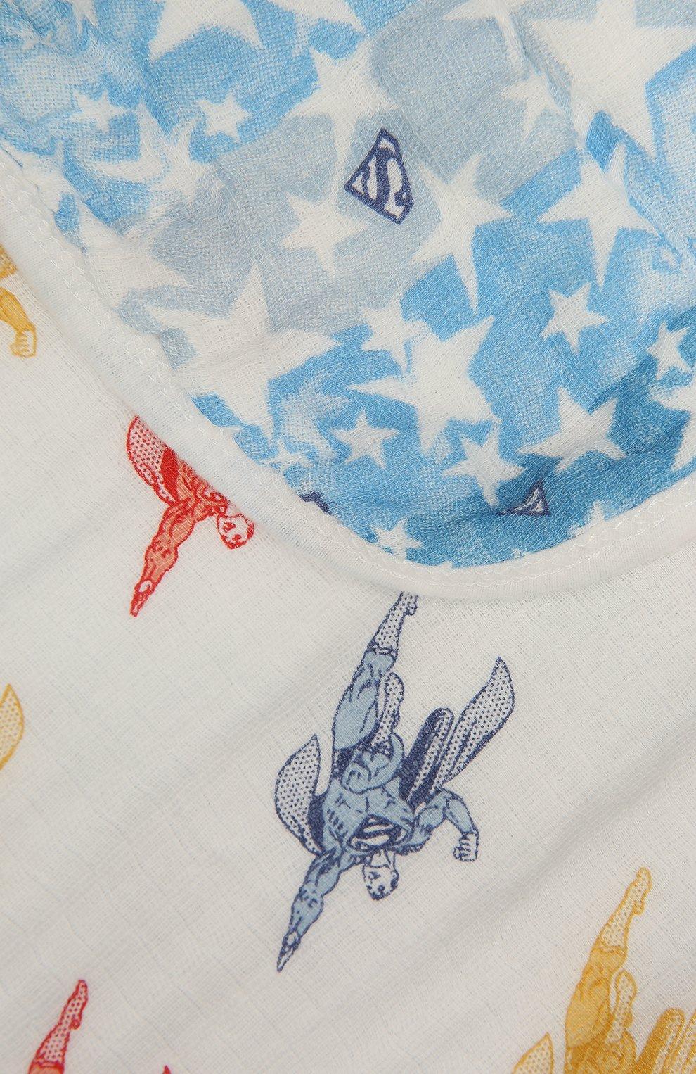 Детского хлопковое одеяло ADEN+ANAIS разноцветного цвета, арт. EMBC10006WB | Фото 2