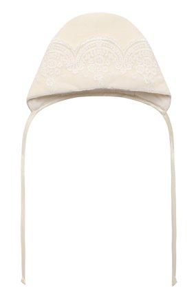 Детский комплект на выписку версаль CHEPE бежевого цвета, арт. 071409 | Фото 2