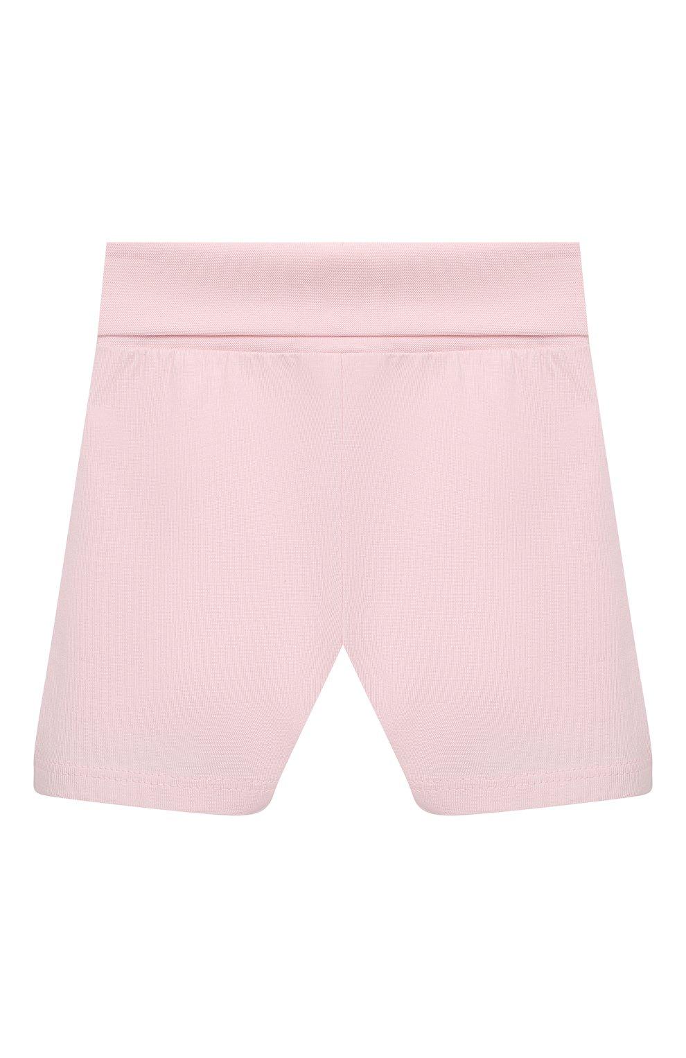 Детская хлопковая пижама SANETTA светло-розового цвета, арт. 221613 | Фото 4