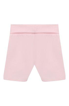 Детская хлопковая пижама SANETTA светло-розового цвета, арт. 221613 | Фото 5