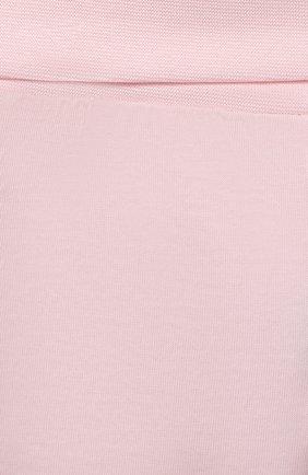 Детская хлопковая пижама SANETTA светло-розового цвета, арт. 221613 | Фото 7