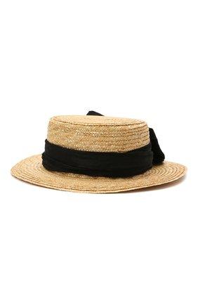 Детская шляпа DESIGNERS CAT черного цвета, арт. 100000K01000734/56-58   Фото 1