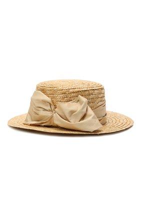 Детская шляпа DESIGNERS CAT бежевого цвета, арт. 100000K01000734/56-58 | Фото 2