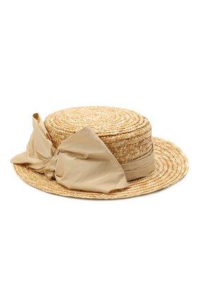 Детская шляпа DESIGNERS CAT бежевого цвета, арт. 100000K01000734/50-54 | Фото 1