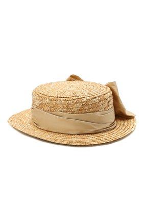 Детская шляпа DESIGNERS CAT бежевого цвета, арт. 100000K01000734/50-54 | Фото 2