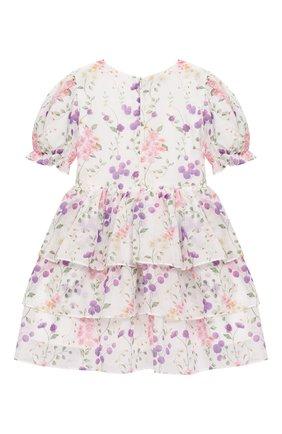 Детское хлопковое платье DESIGNERS CAT разноцветного цвета, арт. 100000K01000730/2A-3A | Фото 2