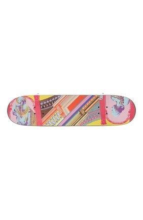 Детского скейтборд VERSACE разноцветного цвета, арт. ZSKATE001/ZW00D001 | Фото 3 (Материал: Дерево)