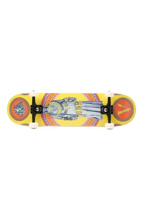 Детского скейтборд VERSACE разноцветного цвета, арт. ZSKATE001/ZW00D001 | Фото 4 (Материал: Дерево)