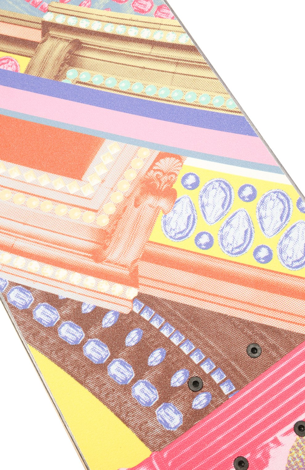 Детского скейтборд VERSACE разноцветного цвета, арт. ZSKATE001/ZW00D001 | Фото 5 (Материал: Дерево)