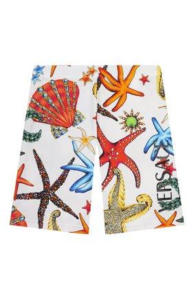 Детские шорты VERSACE разноцветного цвета, арт. 1000431/1A00413/4A-6A | Фото 1