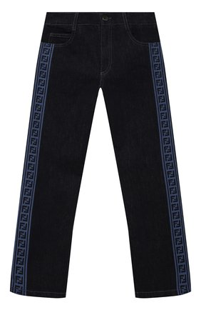 Детские джинсы FENDI темно-синего цвета, арт. JUF033/AEY3/8A-12+   Фото 1