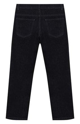 Детские джинсы FENDI темно-синего цвета, арт. JUF033/AEY3/8A-12+   Фото 2