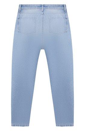 Детские джинсы CHIARA FERRAGNI голубого цвета, арт. 21PE-CFKJS007 | Фото 2