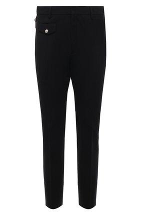 Мужские шерстяные брюки DSQUARED2 черного цвета, арт. S71KB0354/S40320 | Фото 1