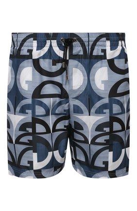 Мужские плавки-шорты DOLCE & GABBANA синего цвета, арт. M4A13T/HSMK5 | Фото 1
