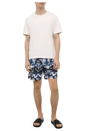Мужские плавки-шорты DOLCE & GABBANA синего цвета, арт. M4A13T/HSMK5 | Фото 2