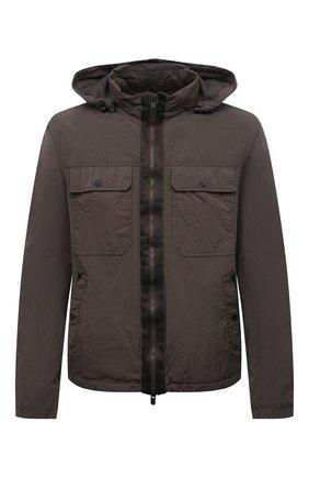 Мужская куртка Z ZEGNA хаки цвета, арт. VW054/ZZ045 | Фото 1 (Материал внешний: Синтетический материал; Материал подклада: Синтетический материал; Рукава: Длинные; Длина (верхняя одежда): Короткие; Кросс-КТ: Куртка, Ветровка; Стили: Кэжуэл, Милитари)