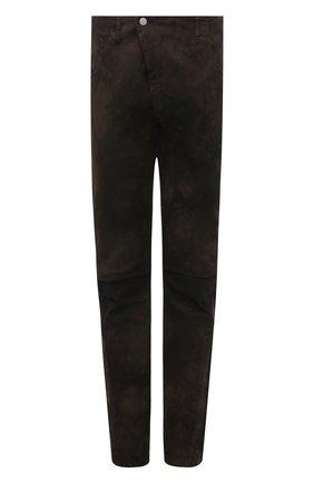 Мужские хлопковые брюки ANDREA YA'AQOV хаки цвета, арт. 21MBYR20T | Фото 1