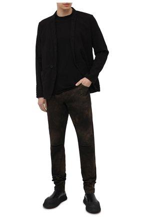 Мужские хлопковые брюки ANDREA YA'AQOV хаки цвета, арт. 21MBYR20T | Фото 2