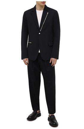 Мужской пиджак ANDREA YA'AQOV черного цвета, арт. 21MFAB28 | Фото 2